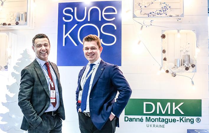 Запуск бренда SuneKOS в Украине